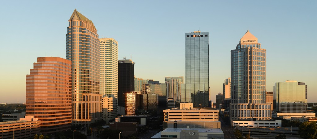 Skyline of Downtown Tampa